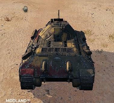 """T-34 Remodel """"T34/E"""" 5.0 [1.0.2.3], 2 photo"""